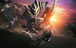 Monster Hunter Rise Demo Gameplay Art