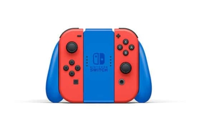 Nintendo Switch Mario Red & Blue Edition Grip View
