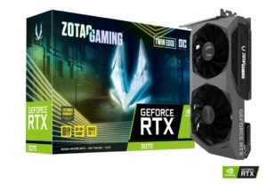 ZOTAC GAMING GeForce RTX 3070 Twin Edge OC - Promo View