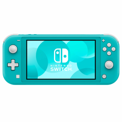 Nintendo Switch Lite Turquoise Front View