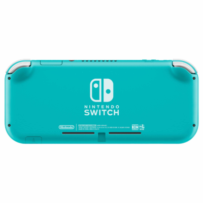 Nintendo Switch Lite Turquoise Back View