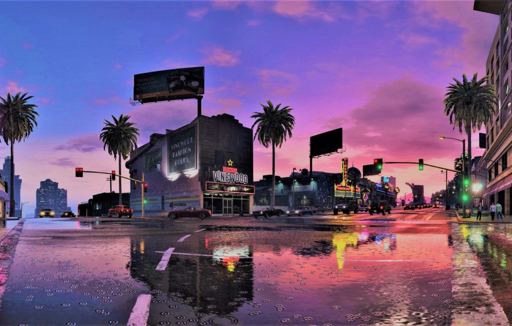 Grand Theft Auto 5 In-game