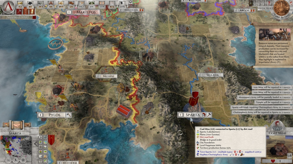 Imperiums: Greek Wars Overlays