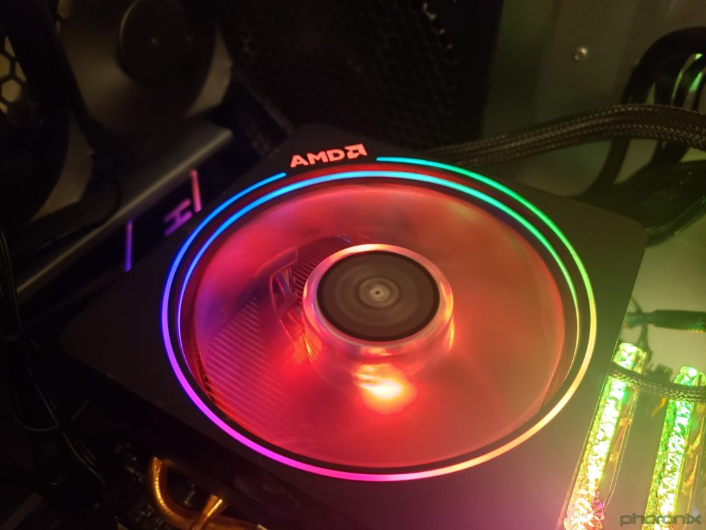 AMD Wraith Prism RGB Cooler