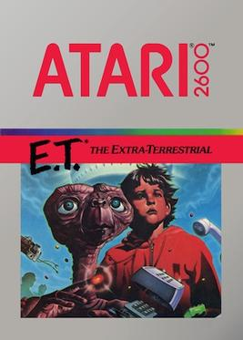 E.T. The Extra-Terrestrial Game Box