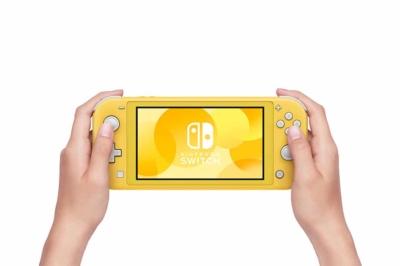 Nintendo Switch Lite Yellow In-hand