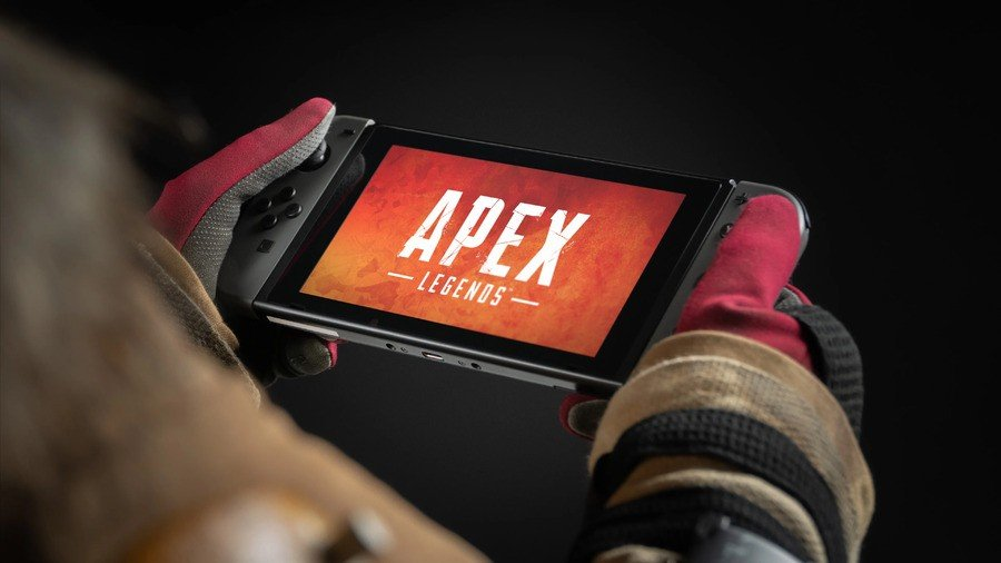 Apex Legends Logo on Nintendo Switch