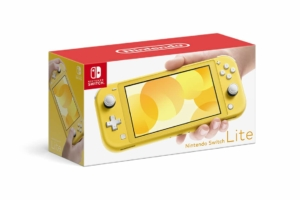 Nintendo Switch Lite Yellow Box View