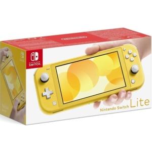 Nintendo Switch Lite Yellow Box View