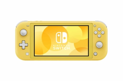 Nintendo Switch Lite Yellow Front View