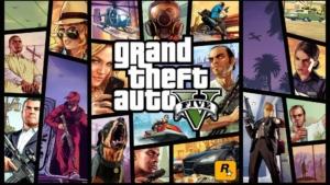 Grand Theft Auto 5 Promo Banner