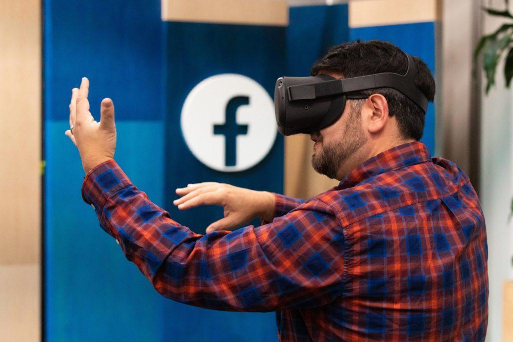 Oculus Headset at Facebook