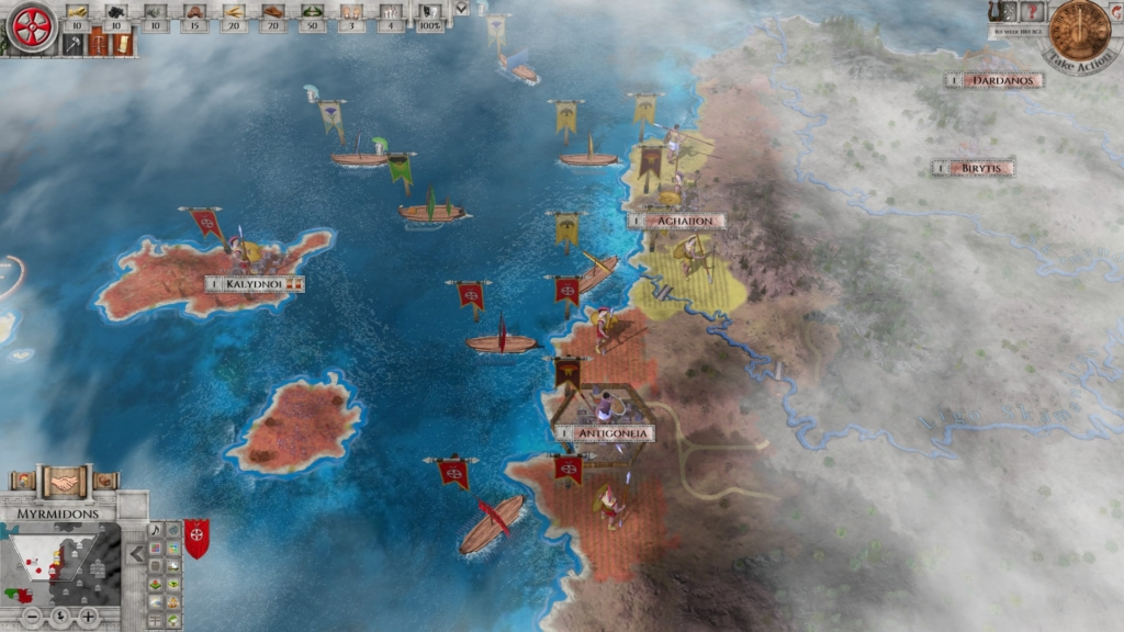 Imperiums: Greek Wars Gameplay