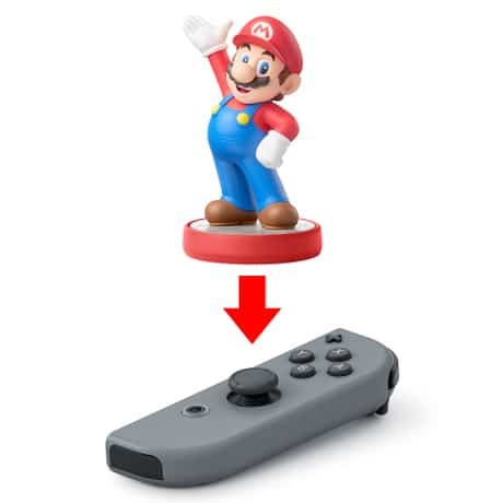Nintendo Switch Joy-Con Mario Amiibo