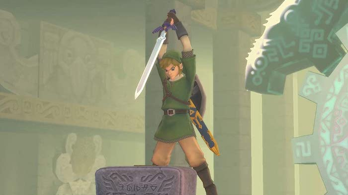 Legend of Zelda: Skyward Sword Pre-launch Image