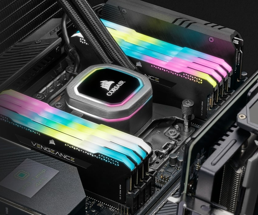 Corsair Vengeance RGB PRO In-place Image