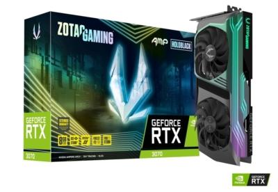 ZOTAC GAMING GeForce RTX 3070 AMP Holo Promo Box View