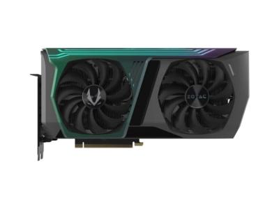 ZOTAC GAMING GeForce RTX 3070 AMP Holo Fan View