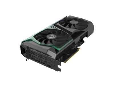 ZOTAC GAMING GeForce RTX 3070 AMP Holo Angled Fan View