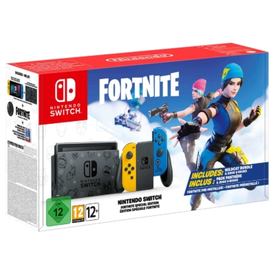 Nintendo Switch Fortnite Special Edition Box View