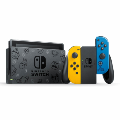 Nintendo Switch Fortnite Special Edition Promo View