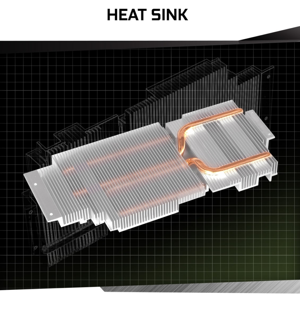 KFA2 GeForce GTX 1660 Super (1-Click OC) Heatsink Promo Art