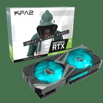 KFA2 GeForce RTX 3070 EX (1-Click OC) Box View