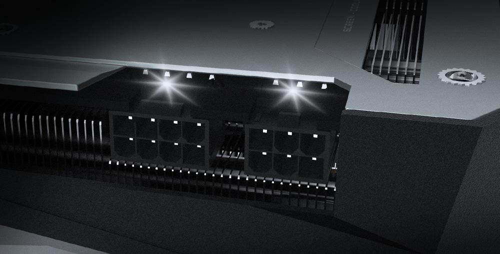 GIGABYTE Radeon RX 6700 XT GAMING OC 12G Powerlight View