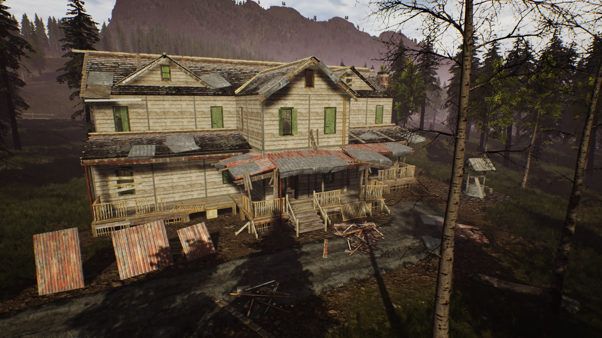 Ranch Simulator Dilapidated House