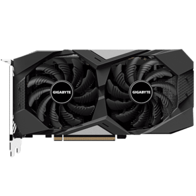 GIGABYTE GeForce GTX 1650 SUPER 4GB WINDFORCE OC Fan View