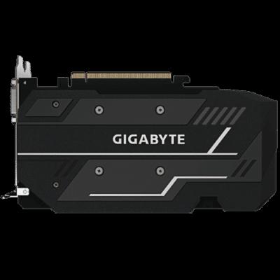 GIGABYTE GeForce GTX 1650 SUPER 4GB WINDFORCE OC Backplate View