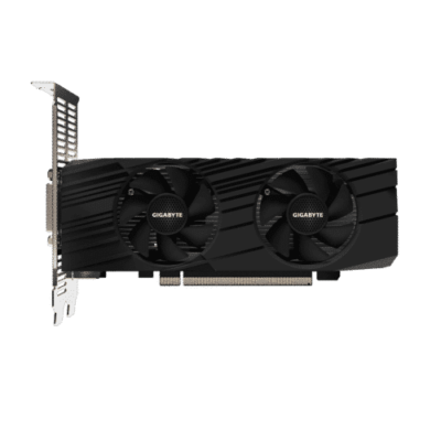 Gigabyte GeForce GTX 1650 D6 OC Low Profile 4G Fan View