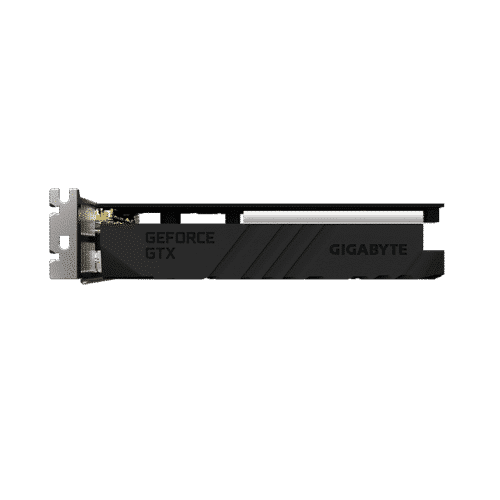 Gigabyte GeForce GTX 1650 D6 OC Low Profile 4G Side View