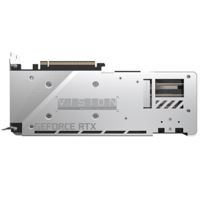 Gigabyte RTX 3070 VISION OC 8G Backplate View
