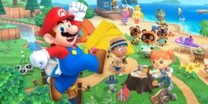 Mario Animal Crossing