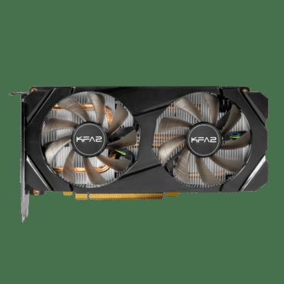 KFA2 GeForce GTX 1660 Super (1-Click OC) Flat Fan View