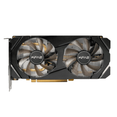 KFA2 GeForce GTX 1660 Super (1-Click OC) Flat Fan View