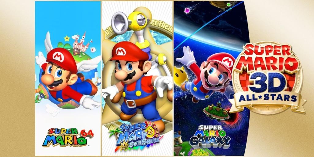 Super Mario 3D All Stars Promo Artwork