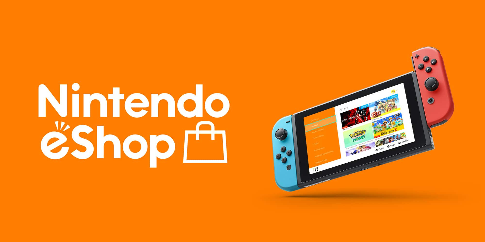 Nintendo eShop Cover Art