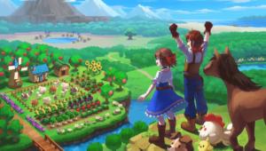 Harvest Moon: One World Cover Art