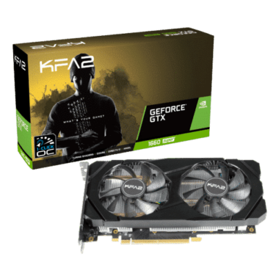 KFA2 GeForce GTX 1660 Super (1-Click OC) Promo View