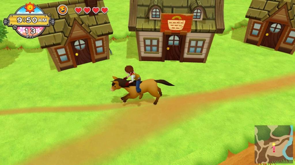 Harvest Moon: One World Horse Riding Screenshot