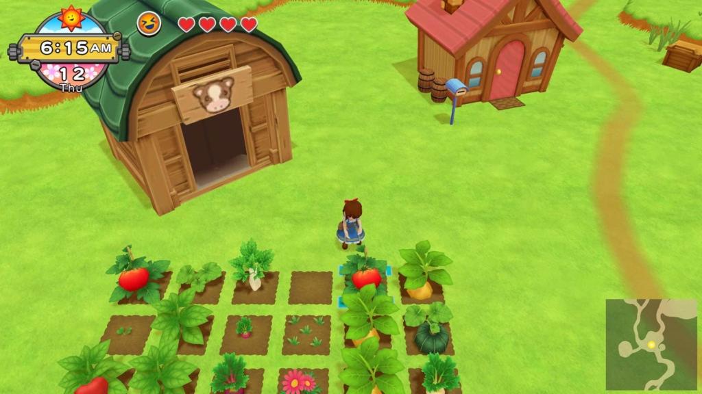 Harvest Moon: One World Farming Screenshot