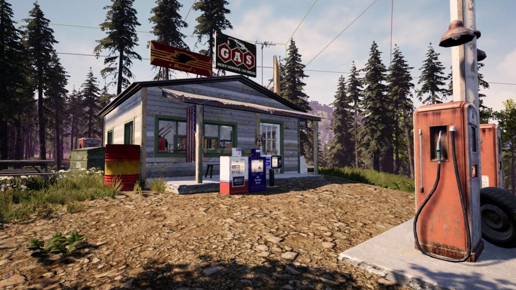 Ranch Simulator Gas Station