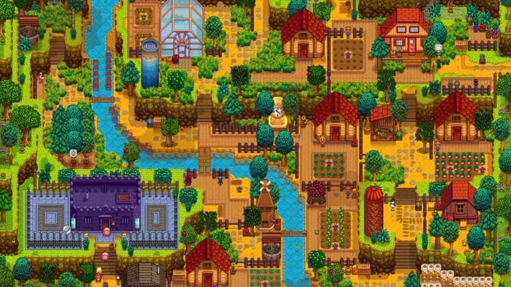 Stardew Valley Village Screenshot