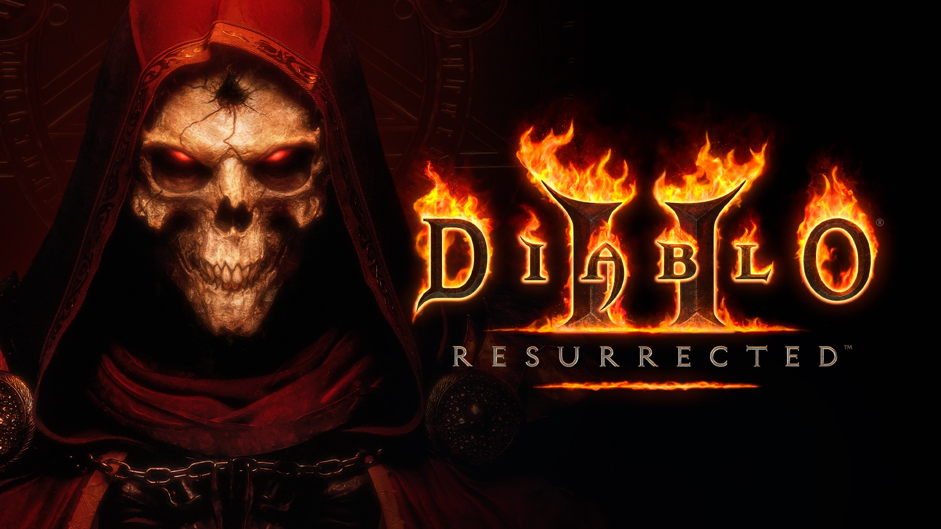 DIABLO II: RESURRECTED Logo Artwork