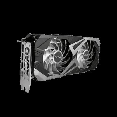 KFA2 GeForce RTX 3060 EX (1-Click OC) Upright View