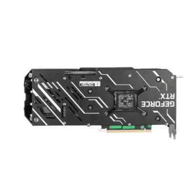 KFA2 GeForce RTX 3070 EX (1-Click OC) Backplate View