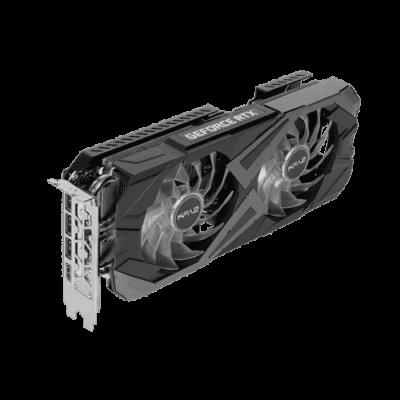 KFA2 GeForce RTX 3070 EX (1-Click OC) Angled Upright View