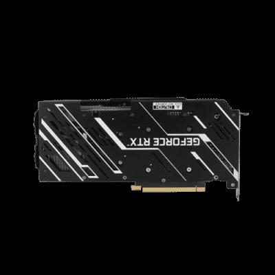 KFA2 GeForce RTX 3060 EX (1-Click OC) Backplate View